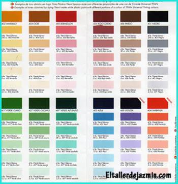 Pinturas decorativas especiales - Gama de colores para pintar ...