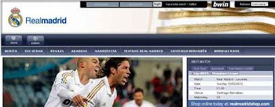 Situs Resmi Real Madrid Brand Indonesia