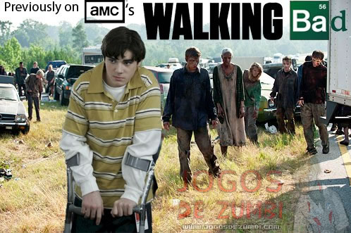 The Walking Dead + Breaking Bad