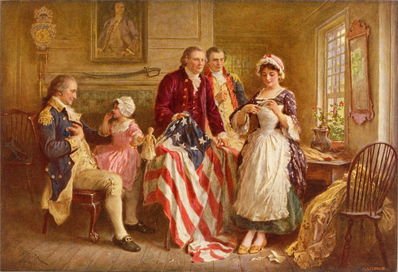 Betsy ross for Making prints of paintings