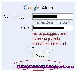 Mengatasi Password Gmail Hack