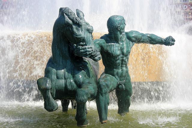 The Promenade des Anglais blog: Place Masséna: La fontaine du soleil