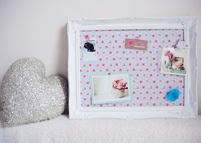 DIY Tutorial | Gilt Frame Memo Board | One Frame Three Ways