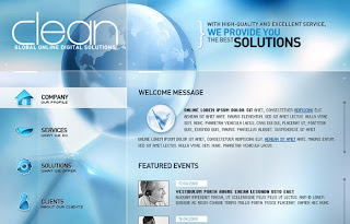 Download Free Flash Web Templates
