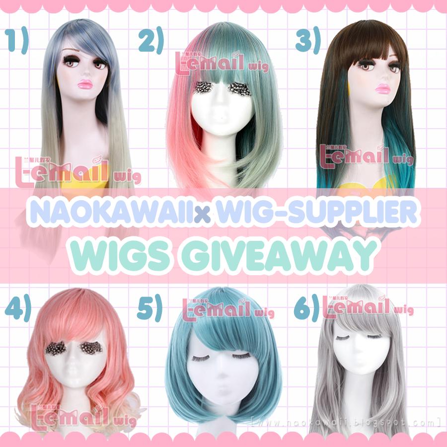 Naokawaii x Wig-suppliers Giveaway