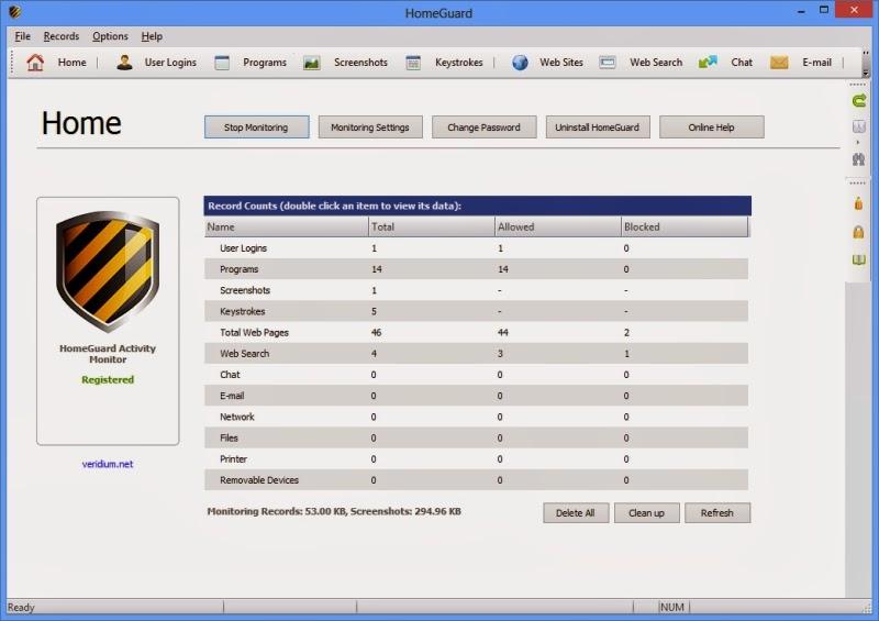 ����� ������ HomeGuard Activity Monitor home4_medium.jpg