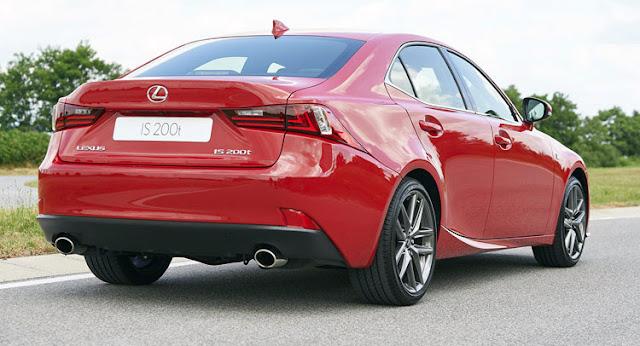 Lexus IS 200t Turbo Engine