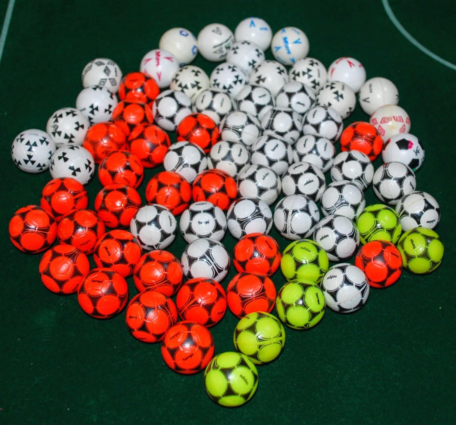 Original Subbuteo Balls