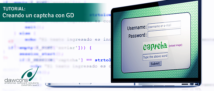TUTORIAL: Creando un captcha con GD