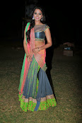 Manasa Glamorous Photos in Half saree-thumbnail-10