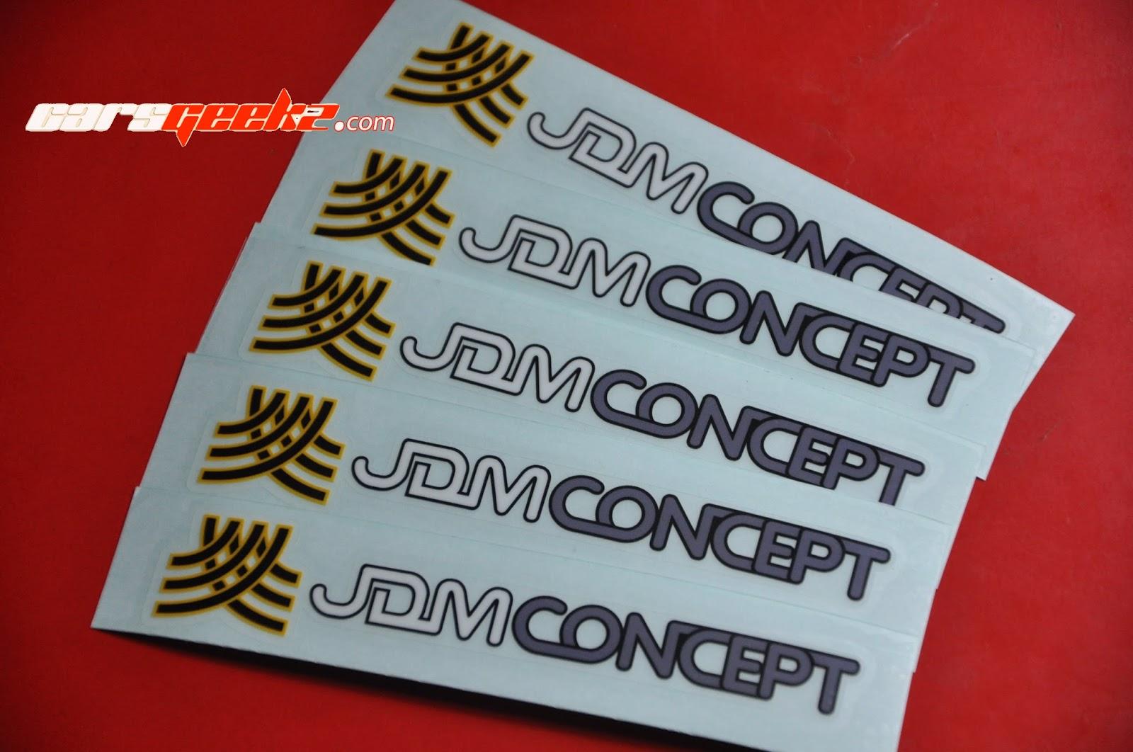 JDM Concept sticker / decal / vinyl OEM 3