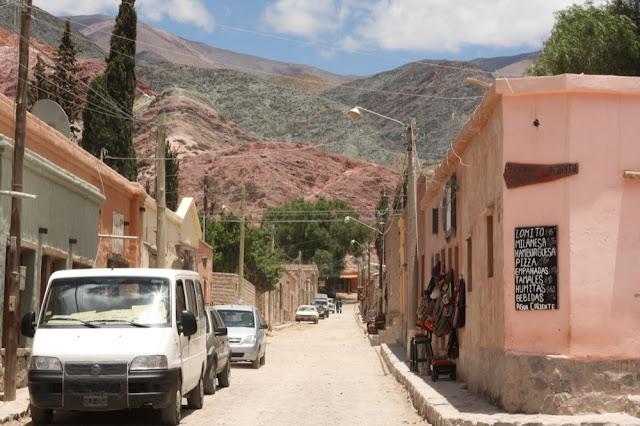 purmamarca town jujuy argentina