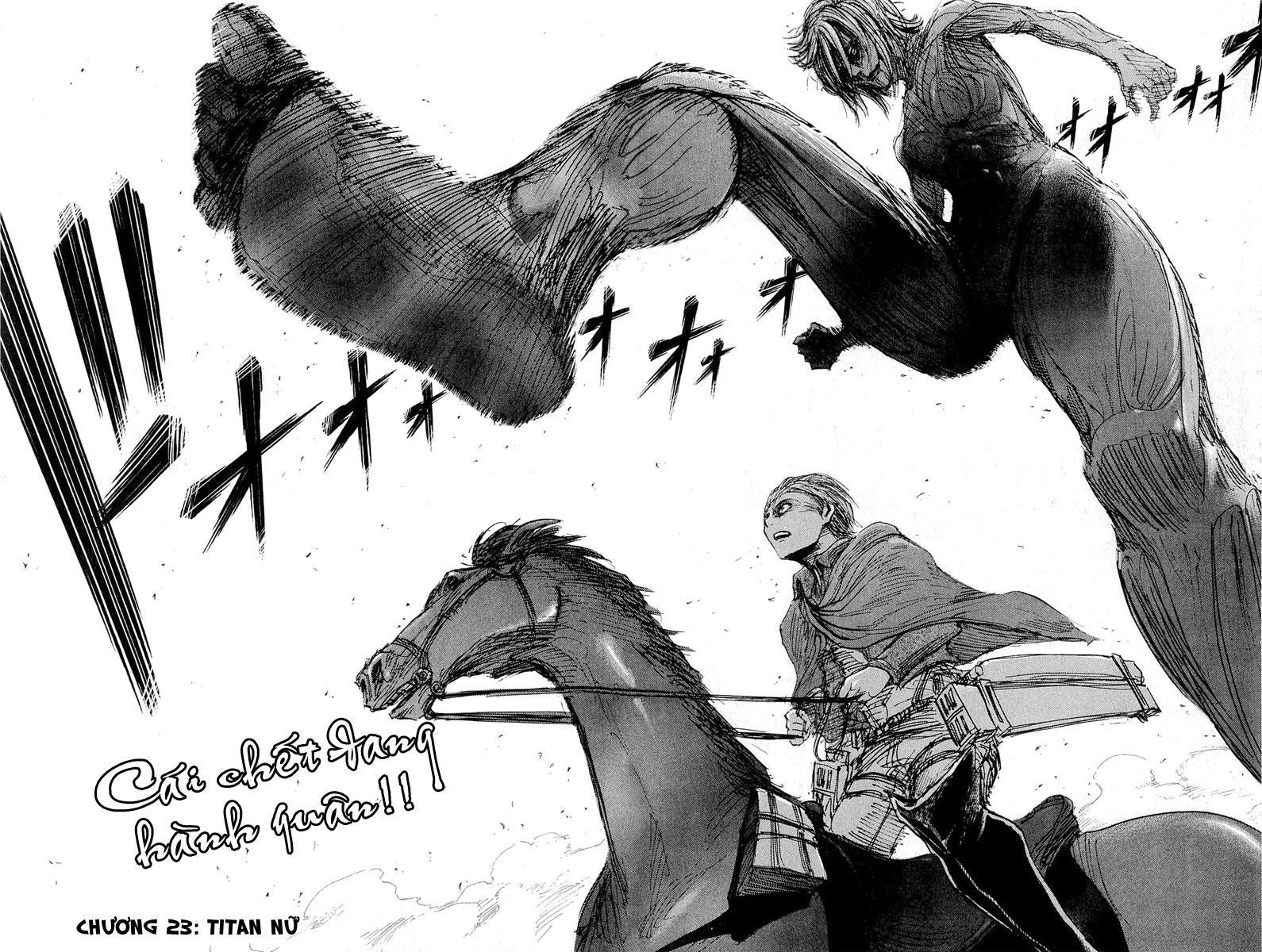 Attack on Titan chap 23 Trang 8