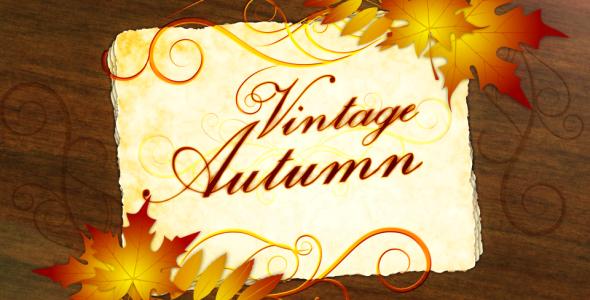 VideoHive Vintage Autumn