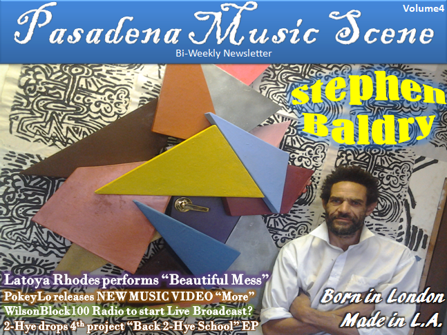 Pasadena Music Scene Bi-Weekly Newsletter Volume4