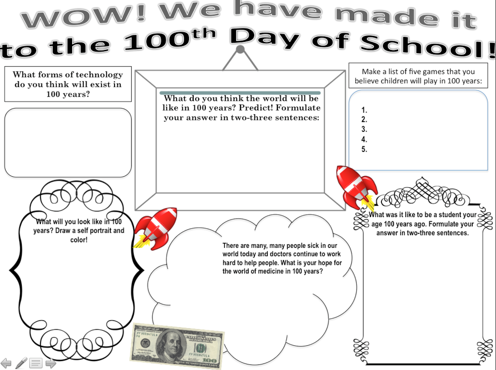 100th Day of School 2015 as The 100th Day of School