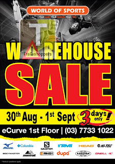 World of Sports Warehouse Sale 2013