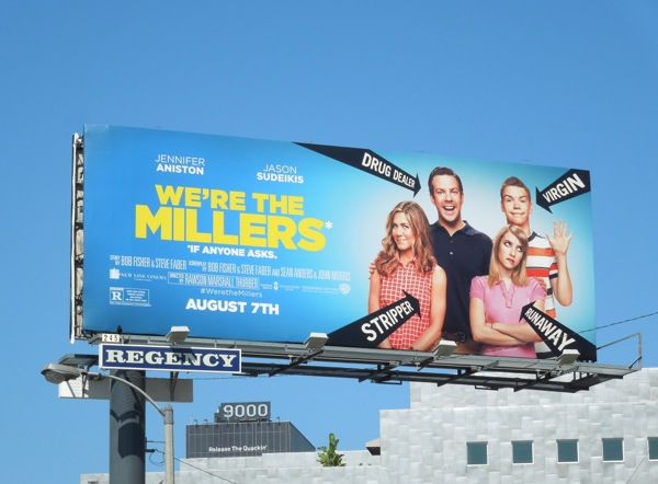 We're The Millers movie billboard