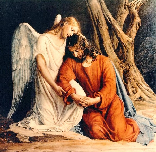 The biblical faith are all repetitions condemned by scripture Jesus praying in the garden of gethsemane