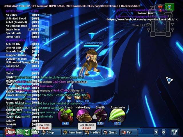 Base D3D Menu Lost Saga Tembus dan Keren