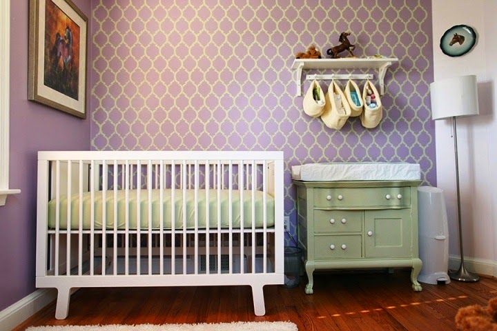 Painting ideas for baby nursery for Baby room painting ideas