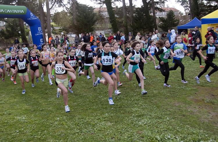 Carrefour bezana el regional de cross en el diario monta es for Valla infantil carrefour