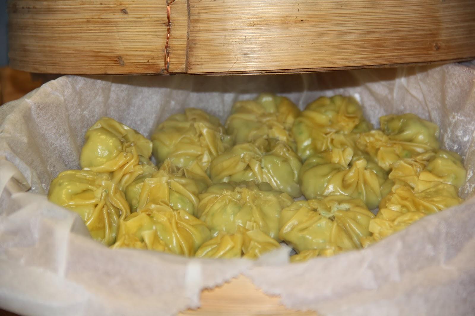 Dumplings met kip & krab - www.desmaakvancecile.com