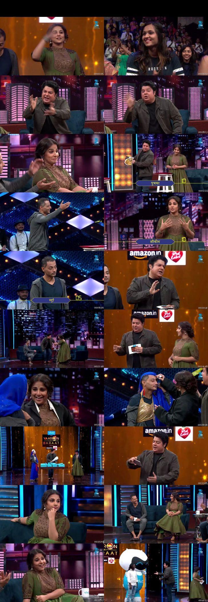 Screenshots Of Hindi Show Yaaron Ki Baraat 4th December 2016 Episode 18 300MB 480P HD