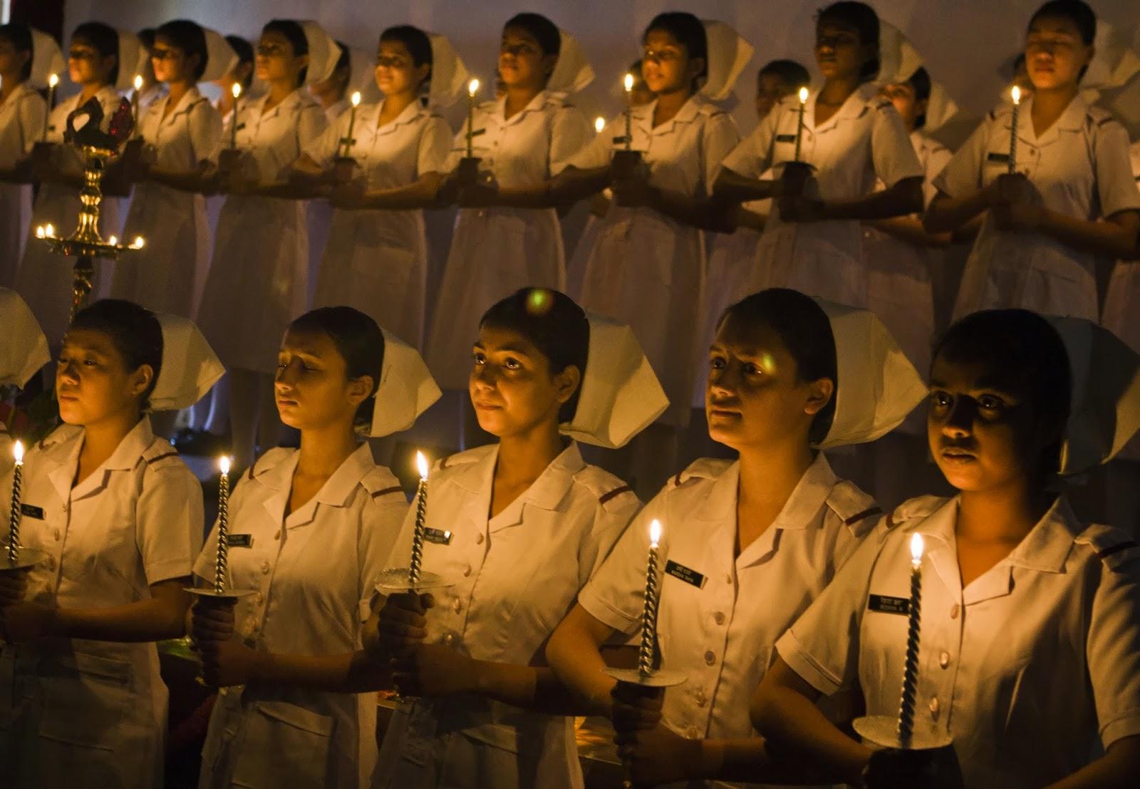 Light Lamp Ceremony At Command Hospital