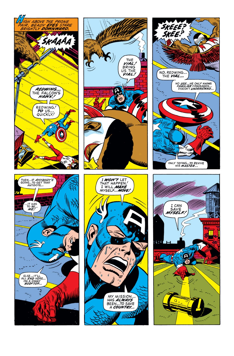 Captain America (1968) Issue #158 #72 - English 3