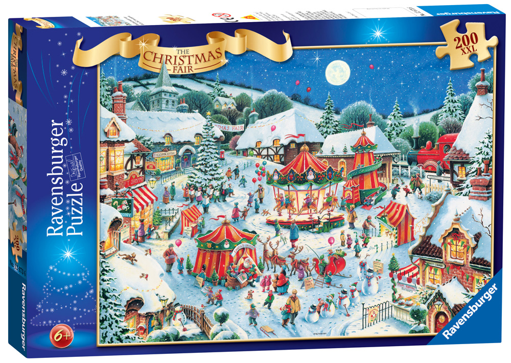 Ravensburger Puzzle Club Christmas Puzzles From Ravensburger