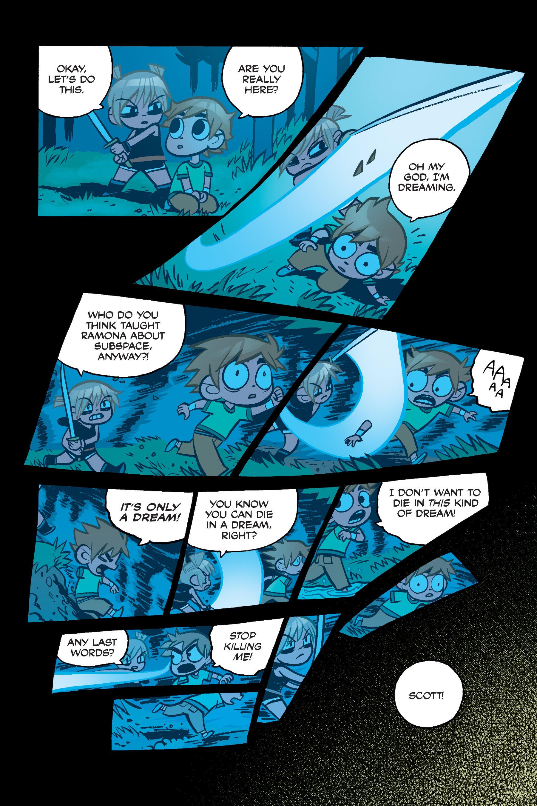 Read online Scott Pilgrim comic -  Issue #4 - 144