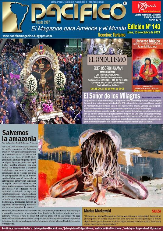 Revista Pacífico Nº 140 turismo