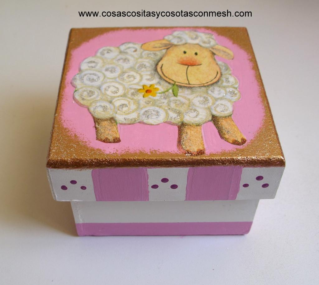Ideas de manualidades cajas de madera navide as - Manualidades cajas madera ...