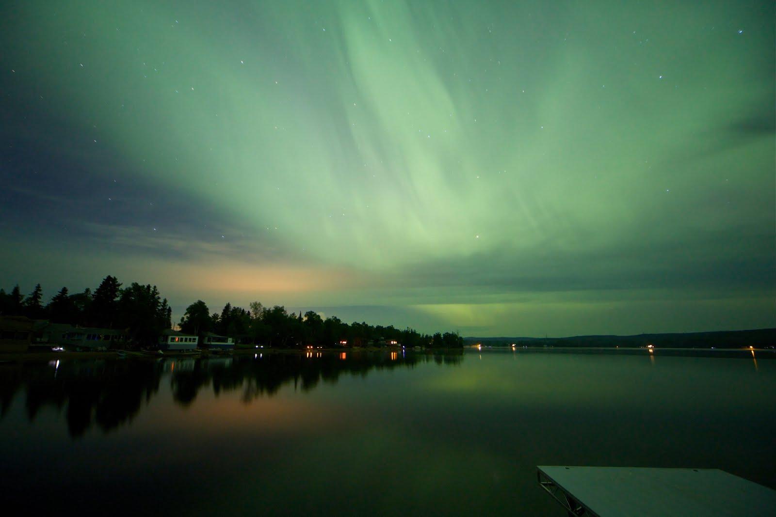 Night Lights of Thunder Bay at Brodie