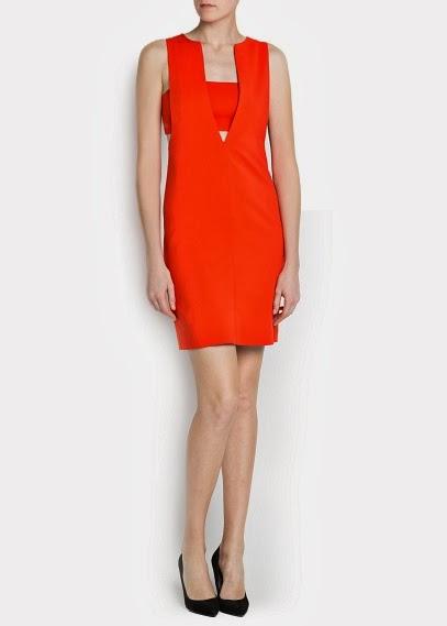 mango-kısa-kırmızı-elbise