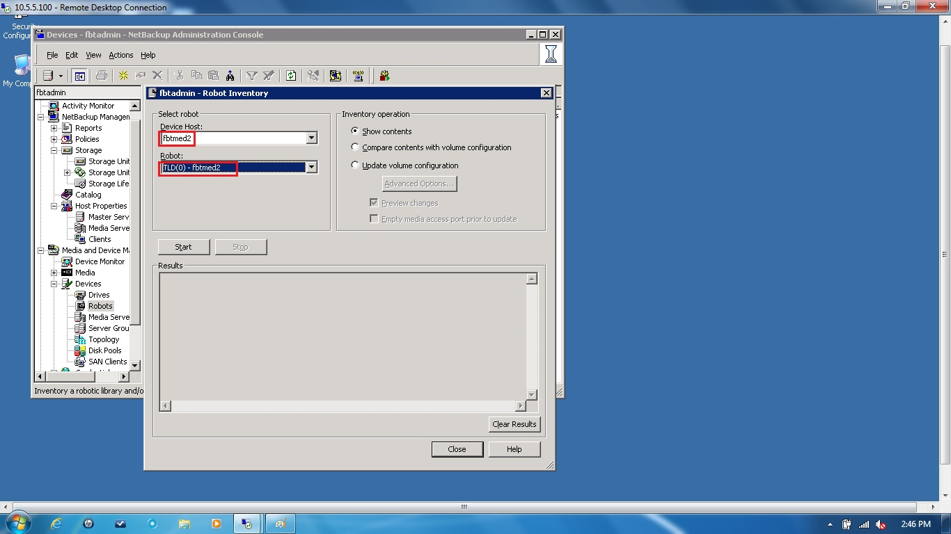Remote Infrastructure Management Advance Disk
