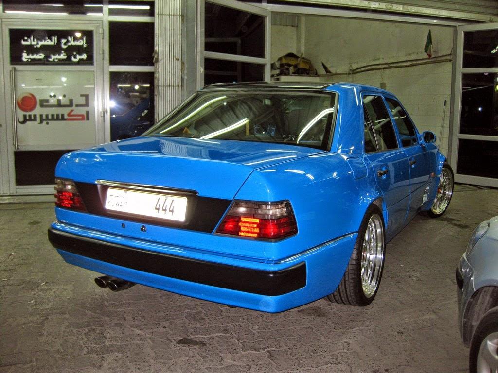Mercedes benz w124 500e hellblau benztuning for Mercedes benz w124 tuning