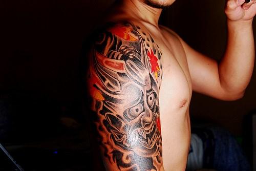 tattoos for men on shoulder