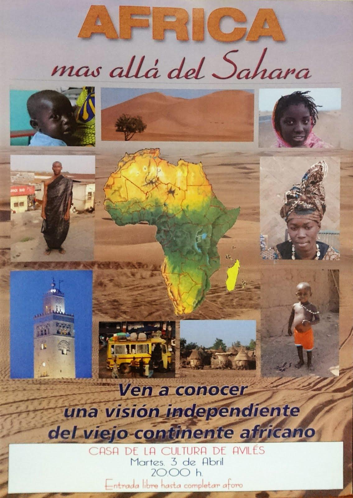 """PROYECCION """"AFRICA más allá del SAHARA"""""""