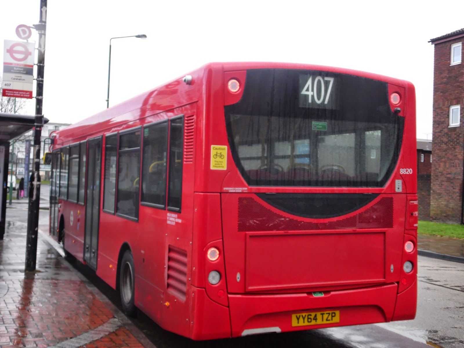 tom london & surrey bus blog: route 407 observations