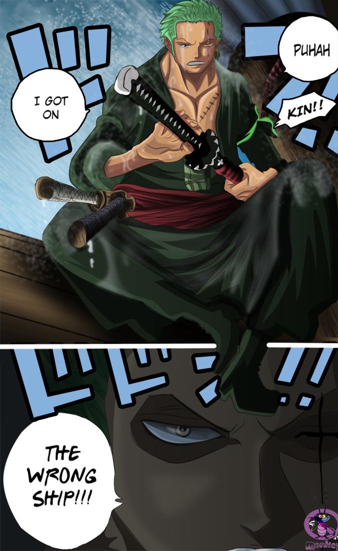 One Piece Chapter 720: Những đấu sĩ tù nhân  021