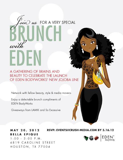 brunch with eden, eden bodyworks, natural hair, relaxed hair,