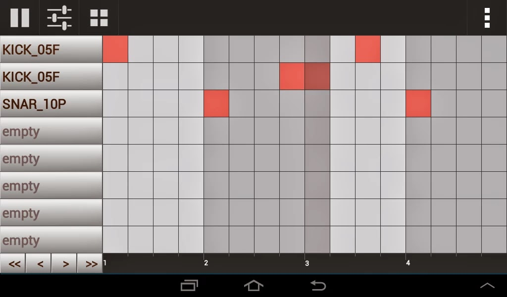 Android Beat Yapma Uygulaması GrooveMixer Apk resimi 3