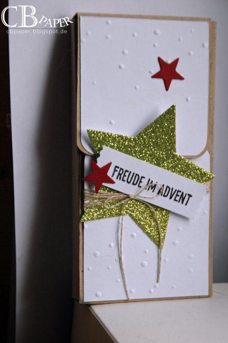 cb paper nr 150 adventskalender zum mitnehmen. Black Bedroom Furniture Sets. Home Design Ideas