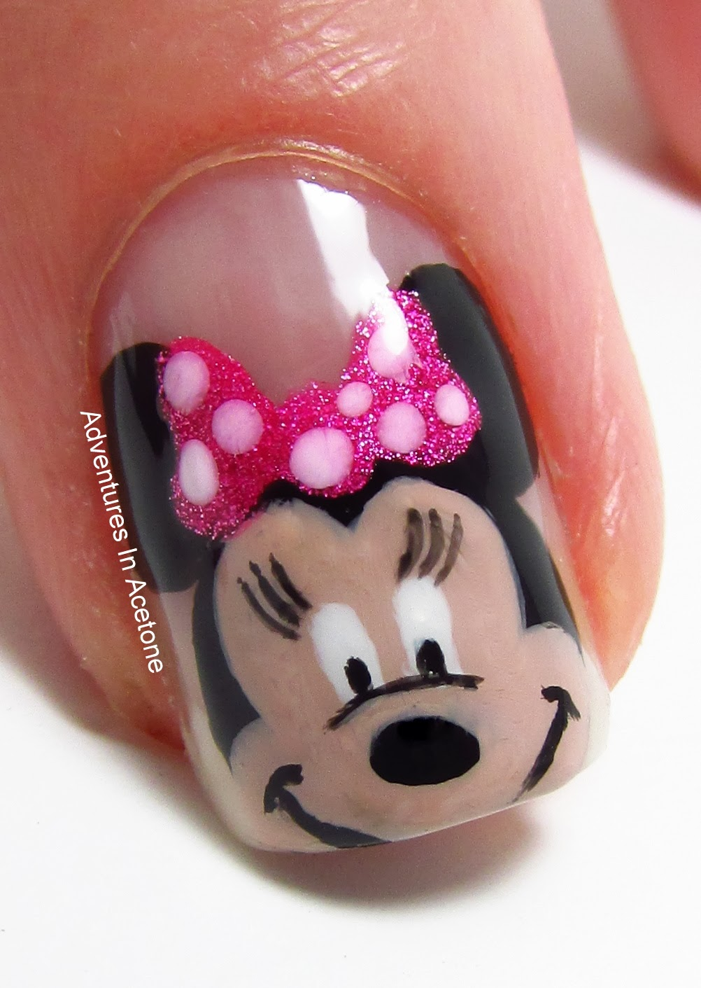 Minnie Inspired By Oli123 - Nail Art Gallery by NAILS Magazine | Best of  Nail Art Gallery | Pinterest | Nails magazine, Nail art galleries and  Youtube nail ... - Minnie Inspired By Oli123 - Nail Art Gallery By NAILS Magazine