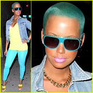 colour amber rose
