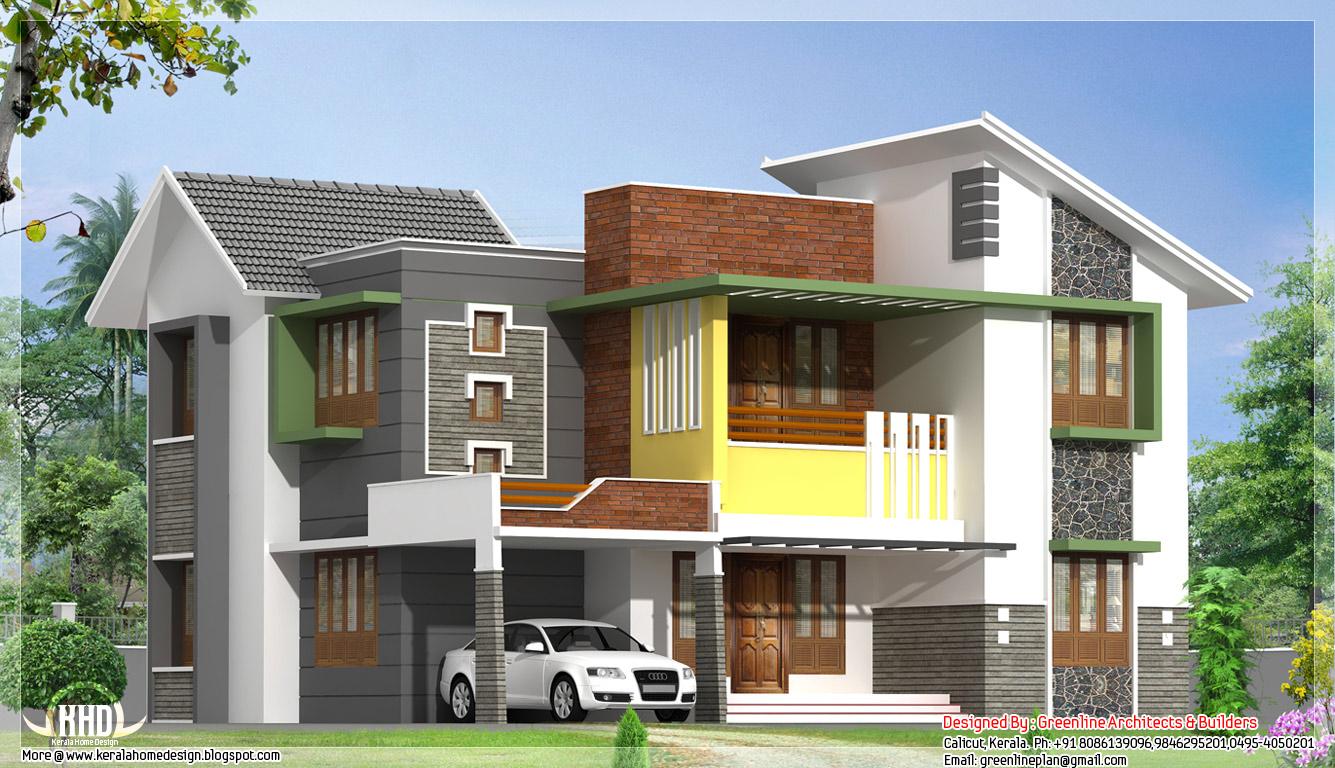 Model rumah minimalis 2 lantai for Online exterior design