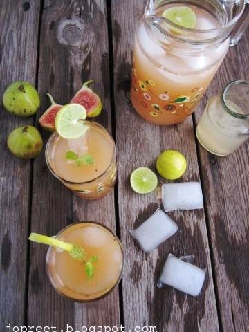 Fig Lemonade
