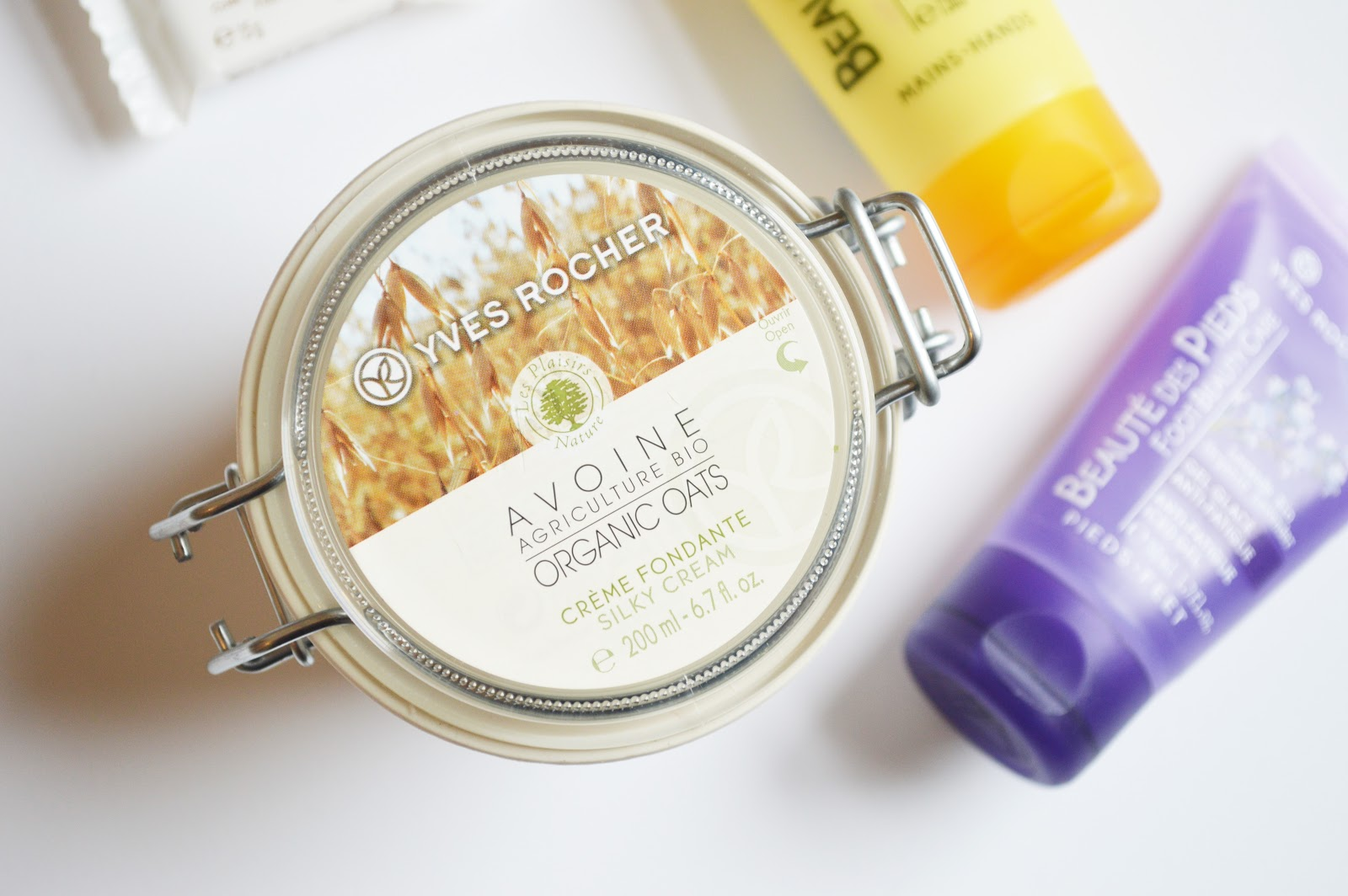 Yves Rocher Organic Oats Silky Cream